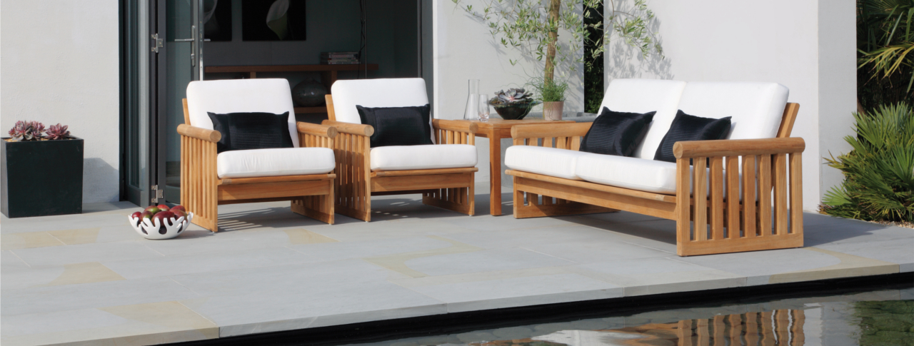 Indian York - Sawn & Sandblasted Indian Stone Paving