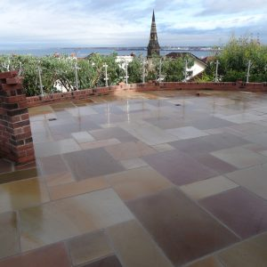 SAWN & HONED Indian Stone Paving
