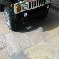 DRIVEWAY GRADE Indian Stone Paving