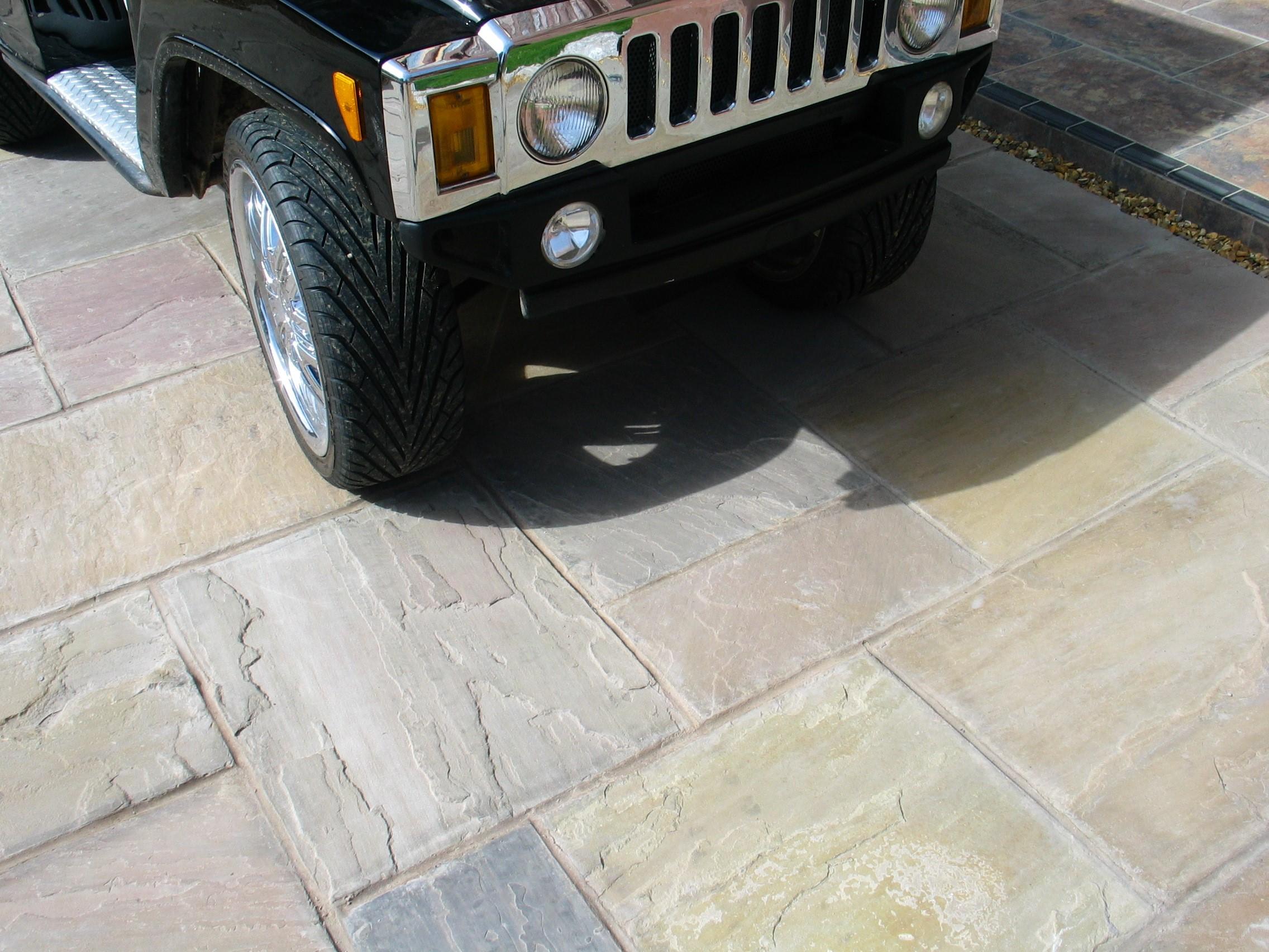 DRIVEWAY GRADE Indian Stone Paving