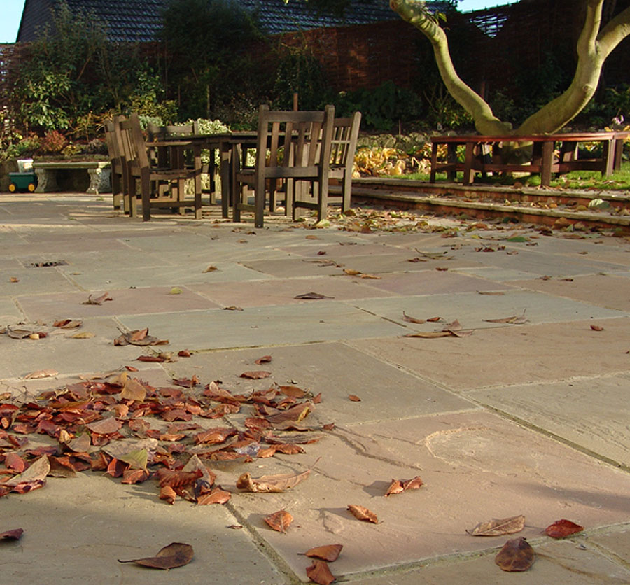 Raj Green Indian Stone Paving