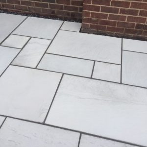SAWN & SANDBLASTED Indian Stone Paving